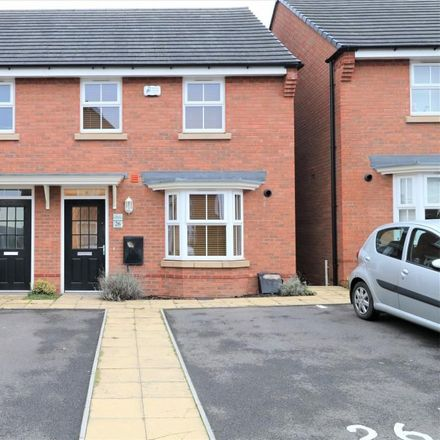 Rent this 3 bed house on Wyatt Way in Solihull CV7 7SG, United Kingdom