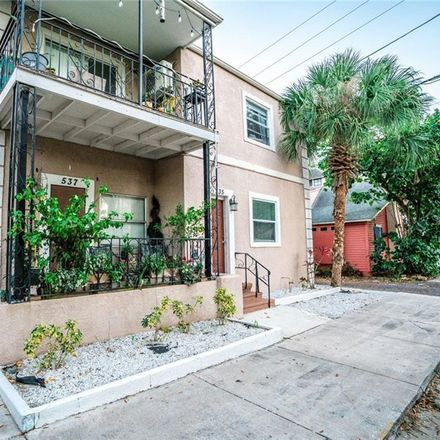 Rent this 1 bed apartment on 537 2nd Street North in Saint Petersburg, FL 33701