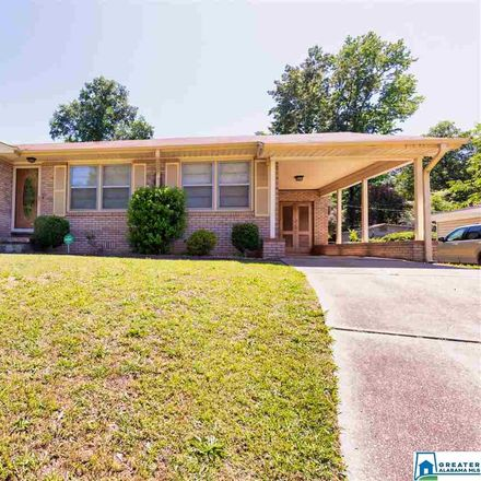 Rent this 3 bed house on 621 Park Avenue in Fairfield, AL 35064