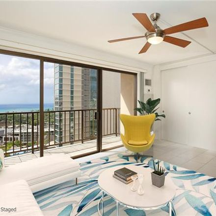 Rent this 1 bed condo on Four Paddle in 2140 Kuhio Avenue, Honolulu