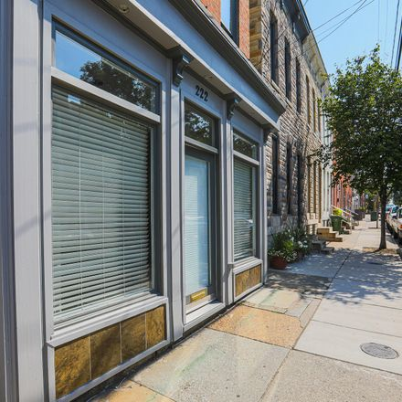 Rent this 3 bed townhouse on 222 East Cross Street in Baltimore, MD 21230