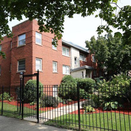 Rent this 2 bed condo on 7521-7523 North Damen Avenue in Evanston, IL 60645