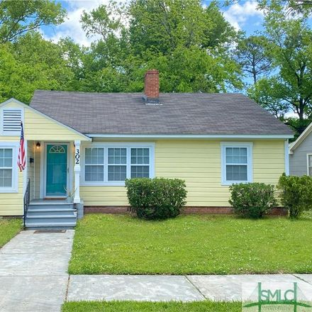 Rent this 3 bed house on 302 East 58th Street in Savannah, GA 31405