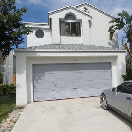 Rent this 4 bed house on 3481 Northwest 20th Street in Coconut Creek, FL 33066
