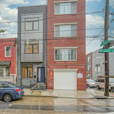 Rent this 3 bed townhouse on 2467 Jasper Street in Philadelphia, PA 19125