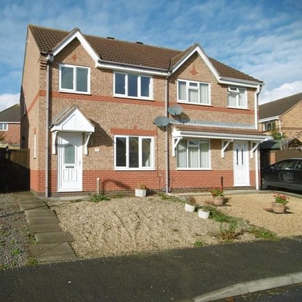 Rent this 3 bed house on Wymondham Way in Potter Hill LE13 1HX, United Kingdom