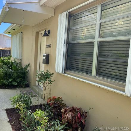 Rent this 2 bed duplex on 2982 Southwest 25th Street in Miami, FL 33133