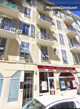Rent this 1 bed apartment on 35 Rue Arson in 06300 Nice, France
