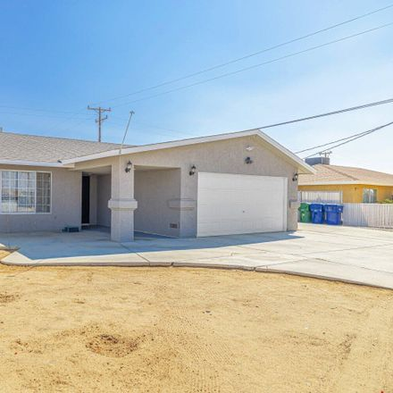 Rent this 3 bed house on 9224 Jacaranda Avenue in California City, CA 93505