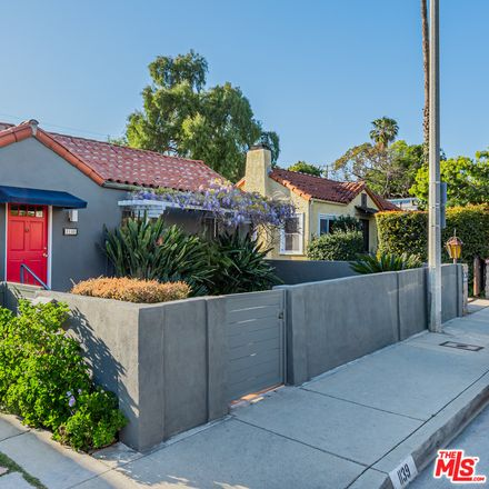 Rent this 4 bed house on 1139 North Genesee Avenue in West Hollywood, CA 90046