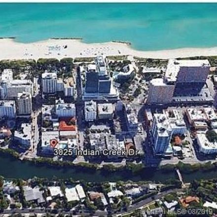 Rent this 1 bed condo on 3025 Indian Creek Drive in Miami Beach, FL 33140