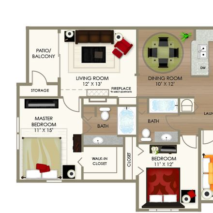 Rent this 1 bed room on 38449 Knickerbocker Place in Indianapolis, IN 46240