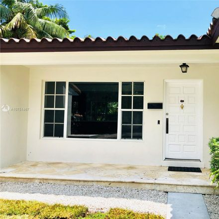 Rent this 3 bed house on 829 Columbus Boulevard in Coral Gables, FL 33134