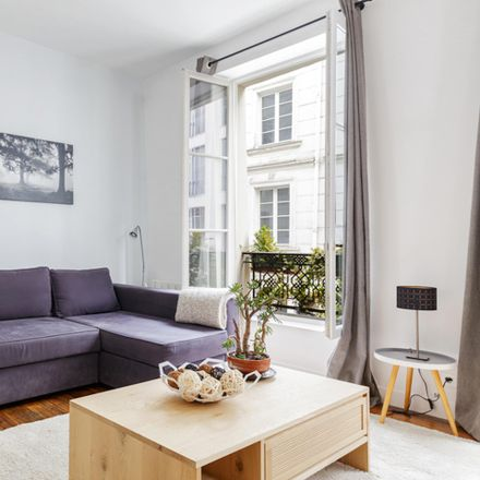 Rent this 1 bed apartment on 73 Rue d'Aboukir in 75002 Paris, France