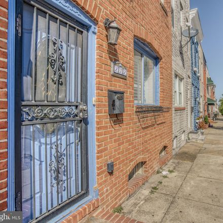 Rent this 4 bed townhouse on 272 South Highland Avenue in Baltimore, MD 21224