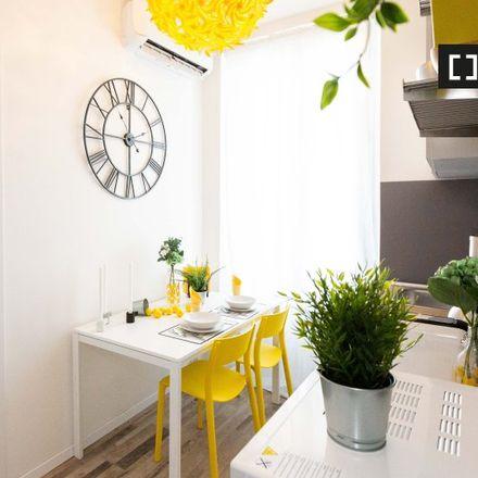 Rent this 1 bed apartment on Via privata Terenzio Mamiani in 20132 Milan Milan, Italy
