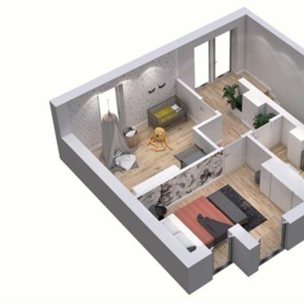 Rent this 4 bed apartment on Starowapienna 29 in 42-680 Tarnowskie Góry, Poland