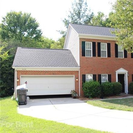 Rent this 3 bed house on 9550 Scotland Hall Court in Charlotte, NC 28277
