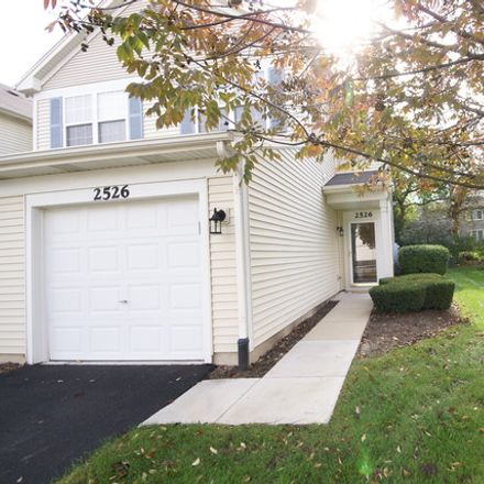Rent this 2 bed townhouse on 2526 Oneida Lane in Naperville, IL 60563