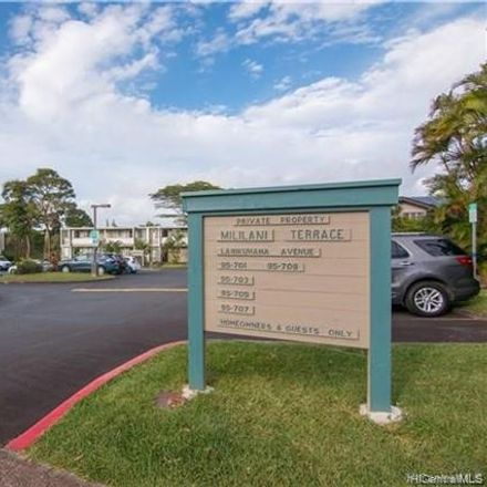 Rent this 1 bed townhouse on Lanikuhana Avenue in Mililani, HI 96789
