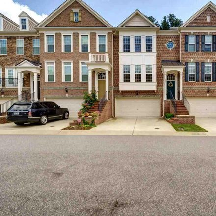 Rent this 3 bed townhouse on 8627 Macedonia Lake Drive in Cary, NC 27518