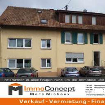 Rent this 1 bed apartment on Traubenstraße 1a in 79618 Rheinfelden (Baden), Germany