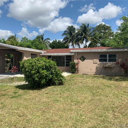 Rent this 3 bed house on 3731 Northwest 37th Street in Lauderdale Lakes, FL 33309