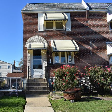 Rent this 3 bed townhouse on 743 Beech Ave in Glenolden, PA