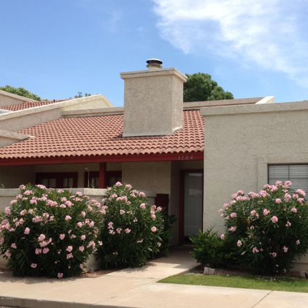 Rent this 3 bed townhouse on 633 West Southern Avenue in Tempe, AZ 85282