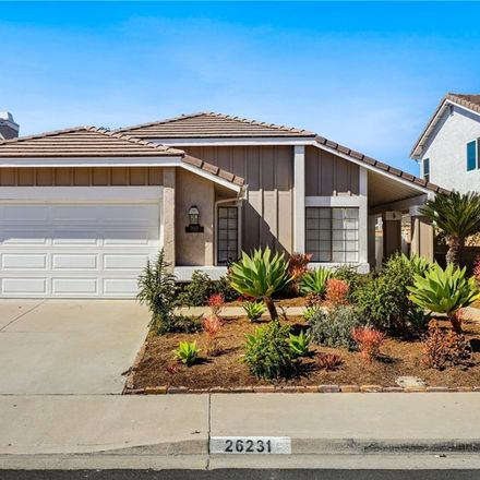 Rent this 3 bed house on 26231 Golada in Mission Viejo, CA 92692