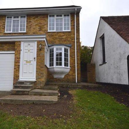 Rent this 3 bed house on Goddington Road in Strood ME2 3DE, United Kingdom