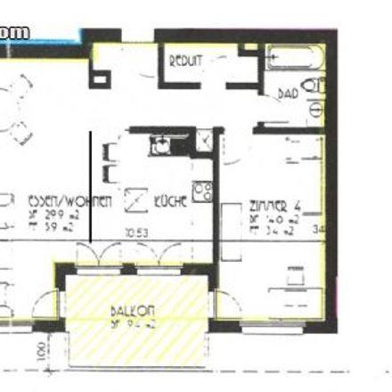 Rent this 2 bed apartment on Rosengartenstrasse 45 in 8107 Buchs (ZH), Switzerland