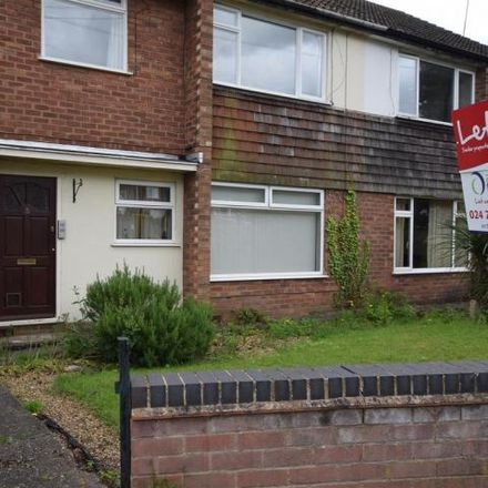 Rent this 0 bed apartment on Derwent Close in Coventry, CV5 7GQ