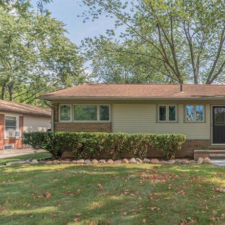 Rent this 3 bed house on 1447 Granada Avenue in Ann Arbor, MI 48103