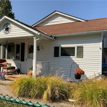 Rent this 2 bed house on 505 Hallam Avenue in Chartiers Township, PA 15347