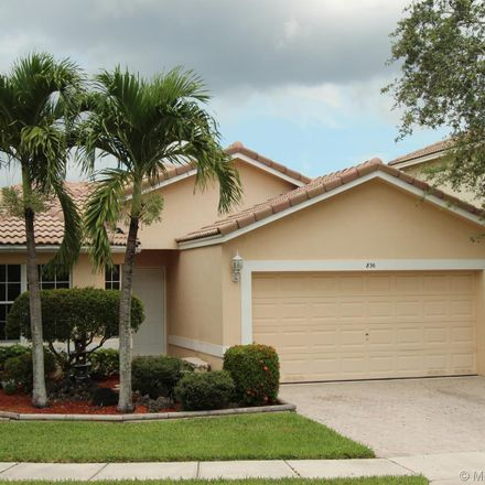 Rent this 3 bed house on 836 Southwest 117th Avenue in Pembroke Pines, FL 33025