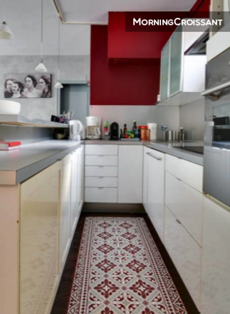 Rent this 2 bed apartment on 8 Rue Le Brun in 75013 Paris, France