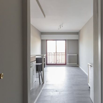 Rent this 1 bed apartment on Calle Andrés Tamayo in 23, 28028 Madrid