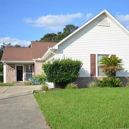 Rent this 3 bed house on 310 Mirabelle Dr in Pensacola, FL