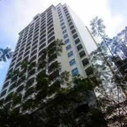 Rent this 1 bed condo on Le Domaine in Tordesillas, Makati