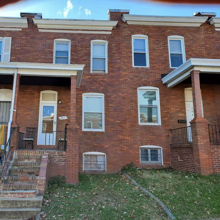 Rent this 2 bed townhouse on 3017 Kenyon Avenue in Baltimore, MD 21213