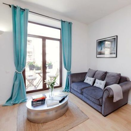 Rent this 3 bed apartment on Hotel Gaudí in Carrer de les Penedides, 08001 Barcelona