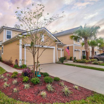 Rent this 3 bed townhouse on Bush Place in Fruit Cove, FL 32259