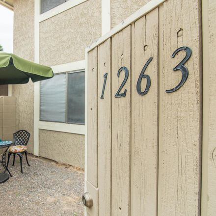 Rent this 2 bed apartment on 1263 North 84th Place in Scottsdale, AZ 85257