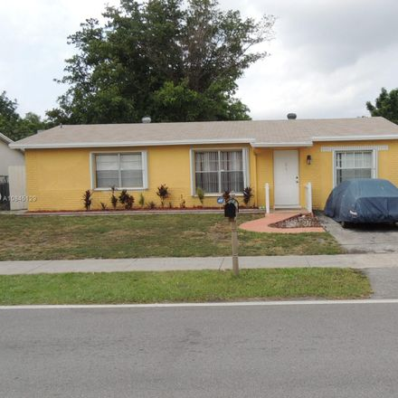 Rent this 3 bed house on 7607 Kimberly Boulevard in North Lauderdale, FL 33068