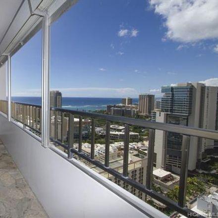 Rent this 3 bed condo on Royal Kuhio in 2240 Kuhio Avenue, Honolulu