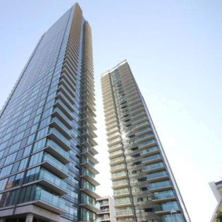 Rent this 2 bed apartment on Landmark East Tower in 24 Marsh Wall, London