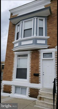 Rent this 3 bed townhouse on 2132 West Saratoga Street in Baltimore, MD 21223