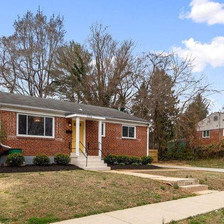 Rent this 3 bed house on Keating St in Rockville, MD