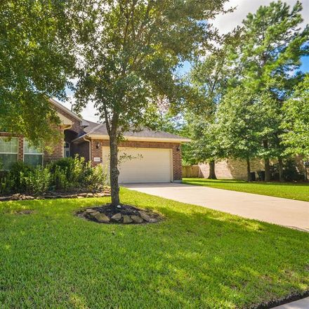 Rent this 4 bed house on 12218 Natchez Park Ln in Humble, TX